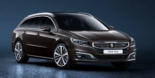 peugeot 508 sw peugeot 508 facelift unveiled u2013 new face and engines image 254706