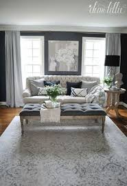 the formal living room features a beautiful color palette and a