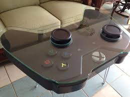 livingroom table xbox one controller coffee table gamifies your living room cnet