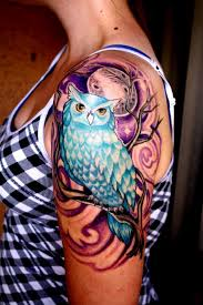 owl tattoos are massively popular with both men and women