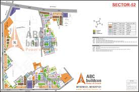 Gurgaon India Map by Huda Sector 52 Gurgaon Plots Resaleprice In