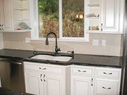 White Cabinets Granite Countertops by Kitchen Backsplash Adorable Backsplash Tile For Kitchen Blue