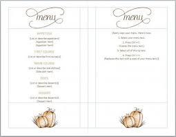 thanksgiving dinner menu template printable professional photos