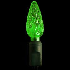 green 70 count c6 led light strings