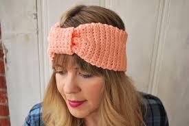 crocheted headbands diy knotted crochet headband