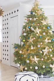 decorated miniature tree with trees decorate