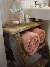 vintage bathroom storage ideas bathroom towel storage 12 creative inexpensive ideas