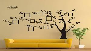 timber artbox large family tree photo frames wall decal