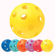 deals on chion sports rainbow plastic balls with holes