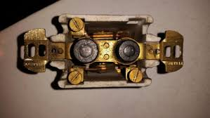 old push button light switches vintage perkins push button light switch doityourself com