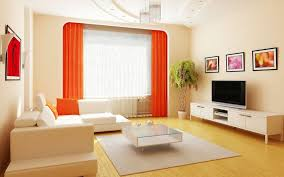Orange Floor L Living Room Adorable Modern Living Room Wall Color Ideas With
