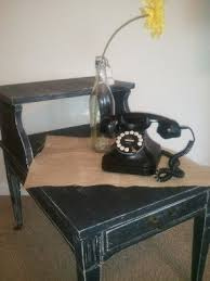 Antique Telephone Bench Black Telephone Table Foter