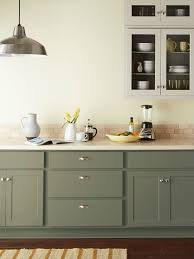 gray kitchen cabinet paint colors 14 kitchen cabinet colors that feel fresh bob vila bob vila