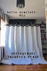 Diy Photo Backdrop Photography Backdrop Stand Diy Hello Scarlett Blog
