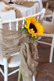 burlap chair covers diy wedding crafts burlap sunflower chair covers diy weddings