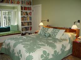 pleasant bedroom bay window ideas for seating and shelves