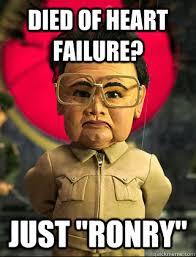 Failure Meme - evidence based management of acute heart failure forget lmnop