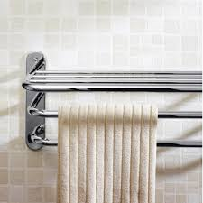 Bathroom Towel Ideas by Bathroom Cool Chrome 3 Tier Bath Towel Handle Design Ideas
