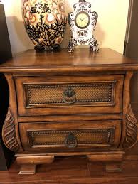 side table 2 drawers end table 2 drawer french ornate baroque solid wood side table