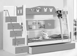 Bunk Bed With Storage Stairs Bedroom Dazzling Bunk Beds For Teenager With Storage Stairs And