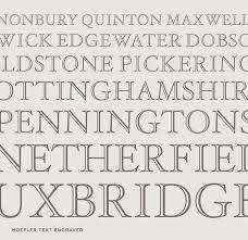 hoefler text font features engraved hoefler co
