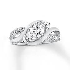 daimond ring diamond ring 1 carat tw 14k white gold