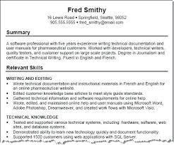 sample of key skills in resume functional resume accomplishments