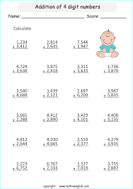 addition addition worksheets up to 10 000 free math worksheets