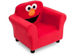 sesame street elmo upholstered chair delta children u0027s products