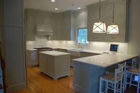 Kitchen Excellent U Shape Kitchen Design Using White Wood Kitchen - Shaw farmhouse kitchen sink