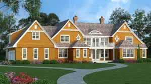 high end shingle style house plan 3898ja architectural designs