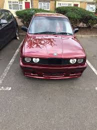 e30 325i manual calypso red in croydon london gumtree