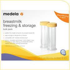 Breastmilk Freezer Storage Container Amazon Com Medela Breastmilk Freezing U0026 Storage Containers 2 7