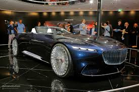 maybach sports car vision mercedes maybach 6 cabriolet is a staple of luxury at iaa