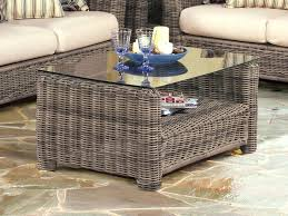 wicker side table with glass top white rattan coffee table architecture white wicker coffee table