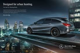 mercedes market market launch caign for the mercedes shooting