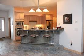kitchen island wall cabinets decorating dry bar furniture ideas comes with gray tiles floor and