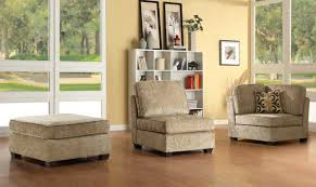 Chenille Sectional Sofas by Homelegance Burke Sectional Sofa Set A Brown Beige Chenille