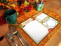 thanksgiving placemats for kids kid u0027s thanksgiving placemats darling doodles