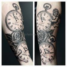 clock and rose tattoo 7 best tattoos ever