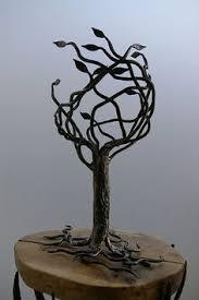 steel rod tree forged my products trees steel rod