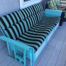 Metal Sofa Glider Vintage Antique Outdoor Metal Furniture Collection On Ebay