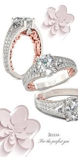 Jeulia Wedding Rings by Rose Gold Vines Round Cut Women U0027s Engagement Ring Jeulia