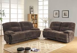 Black Leather Sofa Sets Homelegance Geoffrey Reclining Sofa Set Chocolate Textured