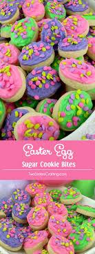 easter sugar eggs easter egg sugar cookie bites two