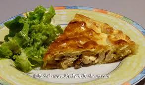 plats faciles cuisiner recette facile tourte poulet chignons plat unique ou entrée
