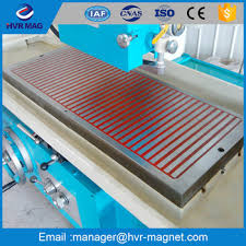magnetic table for surface grinder electro permanent magnetic table for surface grinder magnetic plate