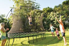 amazon com springfree trampoline 10ft medium round trampoline