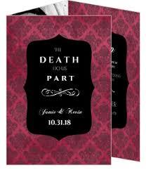 gothic wedding invitations u2013 gangcraft net