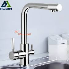 kitchen faucet outlet chrome brass purified water outlet kitchen mixer tap kitchen